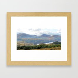 Scottish landscape Framed Art Print