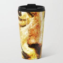 Dali's Eyes Travel Mug