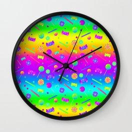 RAINBOW CANDY  Wall Clock