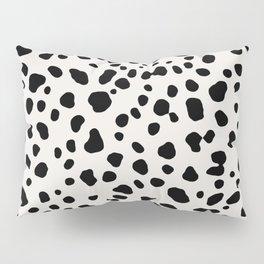Polka Dots Dalmatian Spots Pillow Sham