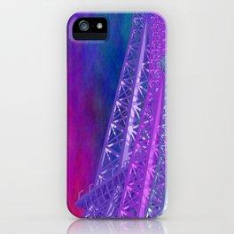 city art - La Tour Eiffel -1- iPhone Case