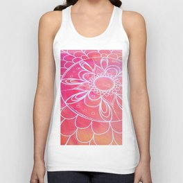 Interlaced With Love Unisex Tank Top