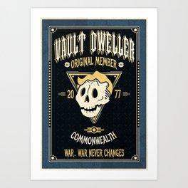 Vault Dweller Art Print