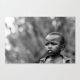 Child in Rwanda Canvas Print