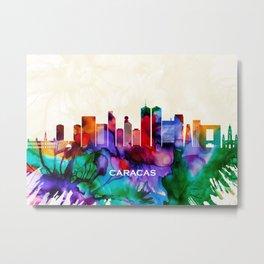 Caracas Skyline Metal Print