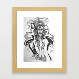 Mother Crone Maiden Framed Art Print