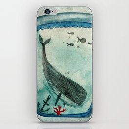Whalewatching iPhone Skin
