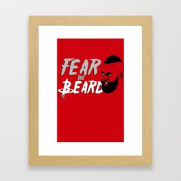 "The Victrs ""Fear the Beard"" Framed Art Print"
