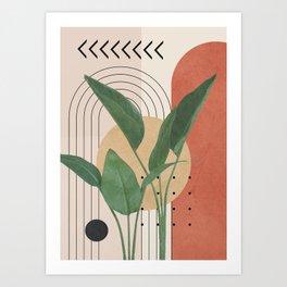 Nature Geometry V Art Print