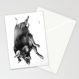 Running Boar Stationery Cards