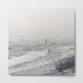 A Scene at the Sea - Winter Baltic Sea Serie Metal Print