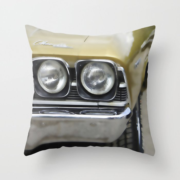 Musclecar No. 3 Throw Pillow