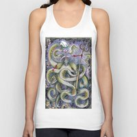 ursula Tank Tops featuring Ursula by Jena Sinclair