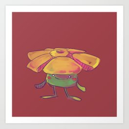 Little Rafflesia Art Print