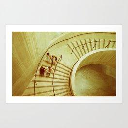 Tate Stairs Art Print
