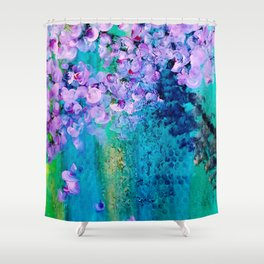 Peace Be With You Shower Curtain
