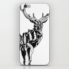 Mecha deer iPhone Skin
