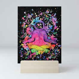 Splatter Astronaut Mini Art Print