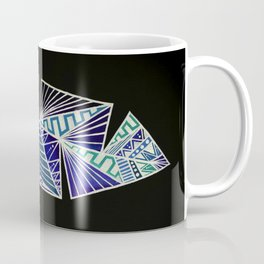 Geometric Feather Coffee Mug