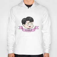 shingeki no kyojin Hoodies featuring ♥ shaddup ♥ by kiokushitaka