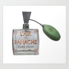 L'AIR de PANACHE Art Print