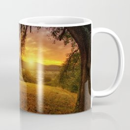 Scenic landscape Photo at Sunset Coffee Mug