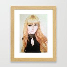 Park Bom (2NE1) Framed Art Print