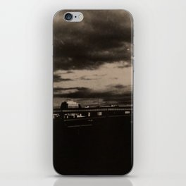 Downtown storm iPhone Skin