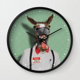 JACKASS Wall Clock