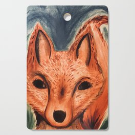Fox in the Woods Cutting Board