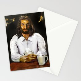 Coffee With Jesus Stationery Cards