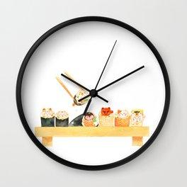 Maki Neko Wall Clock