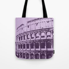 Purpura Coliseum Tote Bag