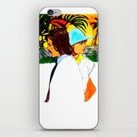 hollywood iPhone & iPod Skins featuring Hollywood by Ecsentrik