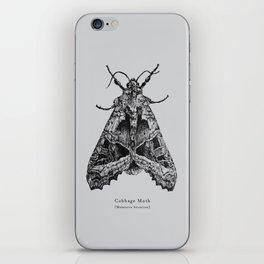 Cabbage Moth [Mamestra brassicae] iPhone Skin