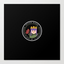 Archer Queen Canvas Print