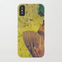 moth iPhone & iPod Cases featuring moth by Laura Veinticuatro