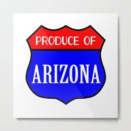 Produce Of Arizona Metal Print