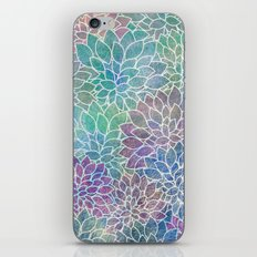 Floral Abstract 9 iPhone & iPod Skin