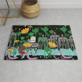 Alien Invasion Rug