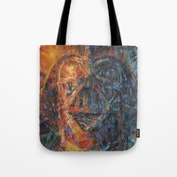 vader Tote Bags featuring Vader by artofJPH