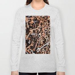 skeleton key Long Sleeve T-shirt
