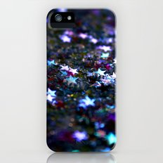 Purple Stars iPhone (5, 5s) Slim Case