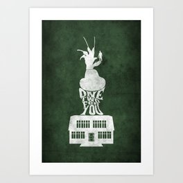 Movie Poster - Elm Street Art Print