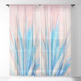 Agave Azul Sheer Curtain