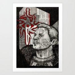 Ser Cullen Stanton Rutherford Art Print