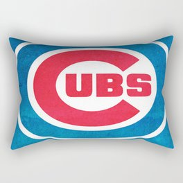 Chicago Cub : Up-and-coming, Promising, Exciting, Committed and Unpredictable Rectangular Pillow