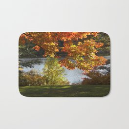 Fall Lake View, Wellesley College Bath Mat