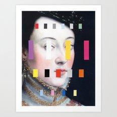Portrait With A Spectrum 4 Art Print