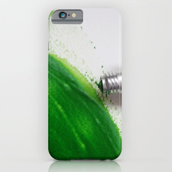 Painting Green #4 iPhone & iPod Case